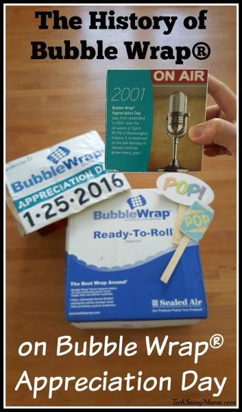 The History of Bubble Wrap® on Bubble Wrap® Appreciation Day