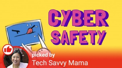 YouTube Kids CyberSafety Playlist by Leticia Barr, TechSavvyMama.com