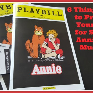 Taking Kids to See Annie: 6 Things to Do Before You Go (+ 3 for After the Show)