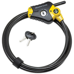 Python Adjustable Locking Cable. Details on TechSavvyMama.com