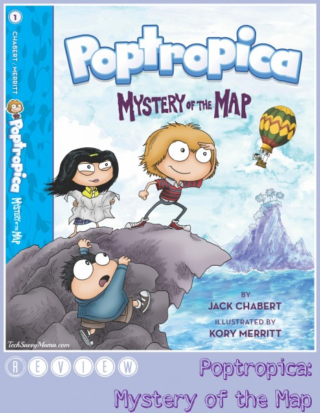 About Poptropica: Mystery of the Map. A review on TechSavvyMama.com