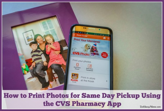 How To Print Photos For Same Day Pickup Using The Cvs Pharmacy App