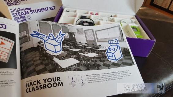 littleBits STEAM Student Set: Tied to Common Core Standards. Details on TechSavvyMama.com