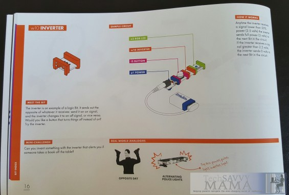 littleBits STEAM Student Set's Comprehensive Student Invention Guide Inspires Self Directed Learning. More details on TechSavvyMama.com