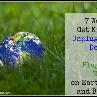 7 Ways to Get Kids to Unplug From Devices and Plug into Nature on Earth Day and Beyond