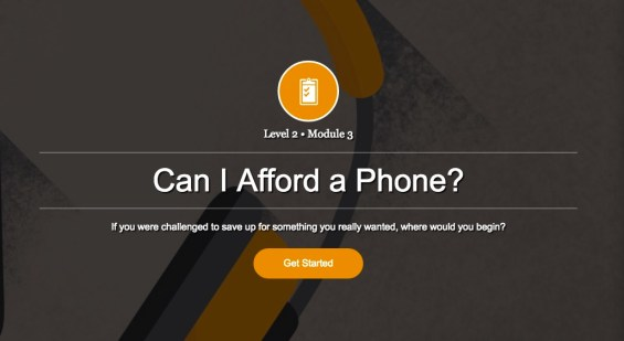 Using the Free Earn Your Digital Future site to teach financial literacy to your kids. Example of a learning module and details on TechSavvyMama.com