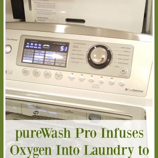 pureWash Pro Infuses Oxygen Into Laundry to Effectively Wash Clothes Detergent Free. Review & Giveaway on TechSavvyMama.com