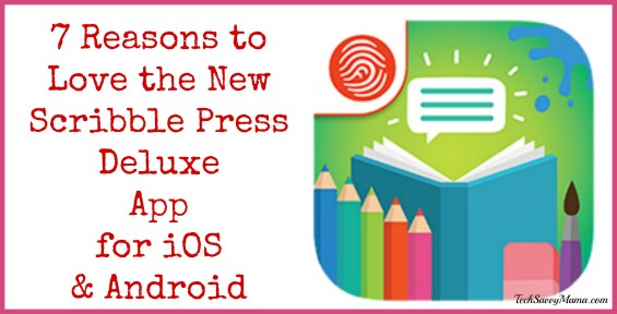 7 Reasons to Love the New Scribble Press Deluxe Creative Writing & Storytelling App for Ages 6-8 on TechSavvyMama.com