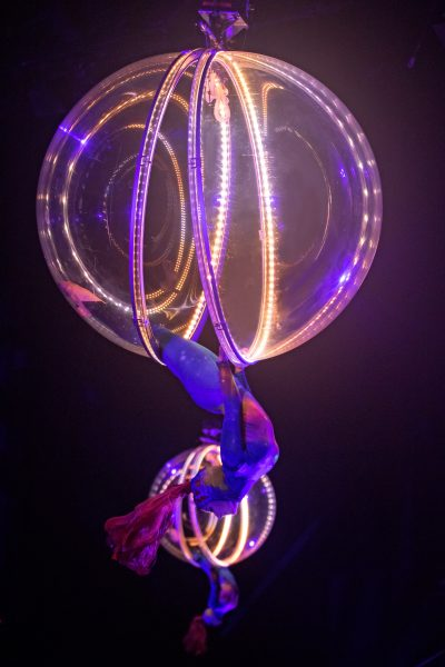 Ringling Bros. Barnum & Bailey shares the new technology that is part of the Out of This World