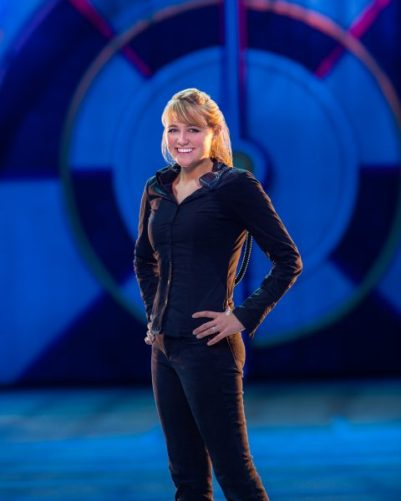 Loralei Owens, Ringling Bros. Barnum & Bailey shares the new technology that is part of the Out of This World show, premiering in Los Angeles July 2016.