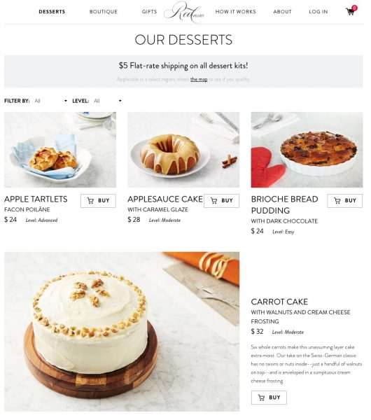 Red Velvet NYC Delivers Delectable Dessert Kits to Your Door for Homemade Treats. Review and video on TechSavvyMama.com