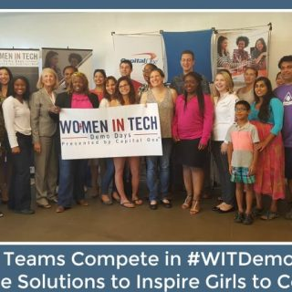 Female Teams Compete in #WITDemoDay and Share Solutions to Inspire Girls of Color to Learn to Code