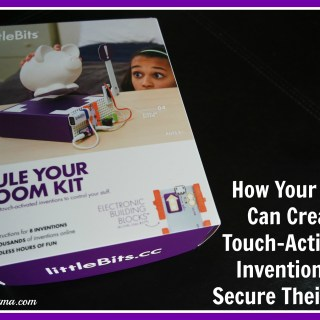 littleBits Rule Your Room Kit Inspires Kids to Create Touch-Activated Inventions to Secure Their Stuff