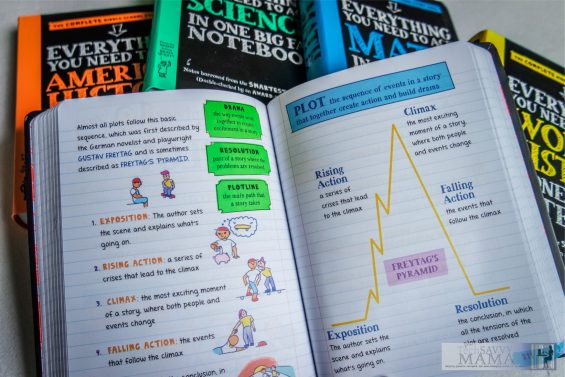 Big Fat Notebooks: Essential Homework Help for Middle Schoolers That Makes Learning Fun. Details & giveaway on TechSavvyMama.com