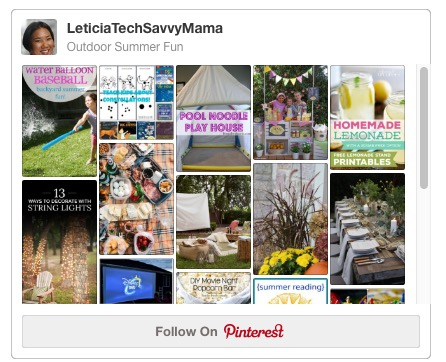 Ideas for Outdoor Summer Fun on TechSavvyMama.com