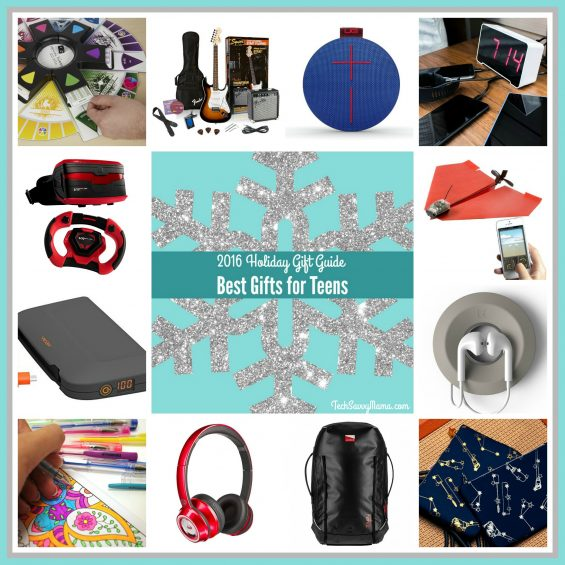 2016 Gift Guide: 17 of the Best Gifts for Teens on TechSavvyMama.com