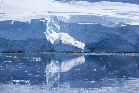 Glaciers in Antartica