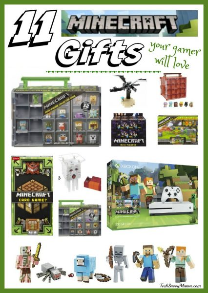 11 Minecraft Gifts Your Gamer Will Love on TechSavvyMama.com