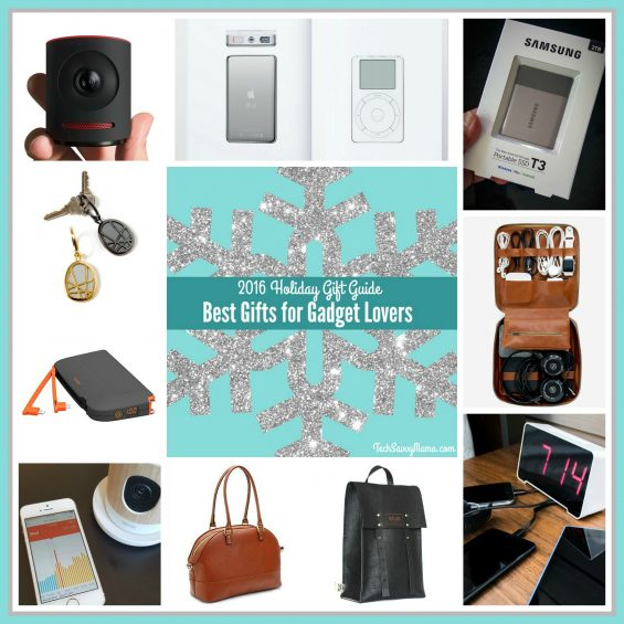2016 Gift Guide- Best Gifts for Gadget Lovers on TechSavvyMama.com