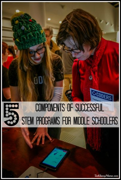 5 Components of Successful STEM Programs for Middle Schoolers on TechSavvyMama.com