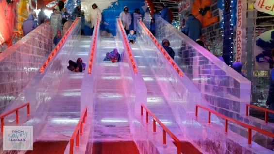 5 Reasons to Make Gaylord National Harbor's Christmas on the Potomac Part of Your Holiday Tradition: Ice Slides at ICE! and more on TechSavvyMama.com