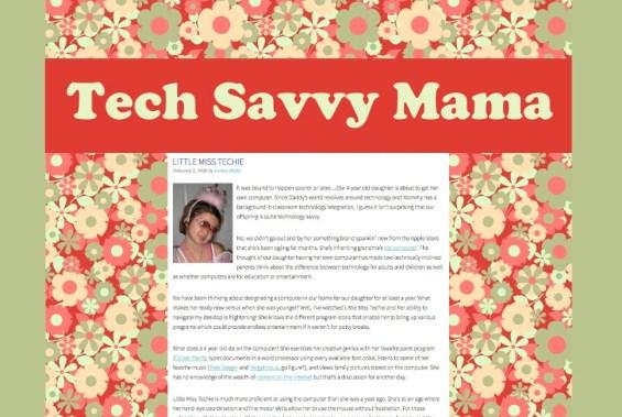How a Blog Design Evolves Over 9 Years: A Stroll Down Memory Lane Celebrating the #BeginningofME on TechSavvyMama.com