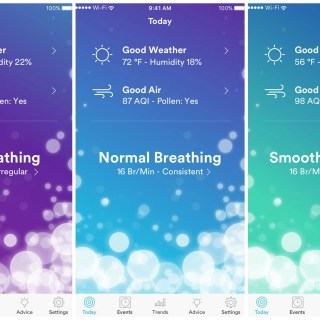 New Technology from 3M Company Works to Monitor Breathing & Provide Insights for Users with Breathing Sensitives #CES2017