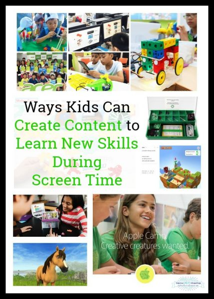 Ways Kids Can Create Content to Learn New Skills During Screen Time