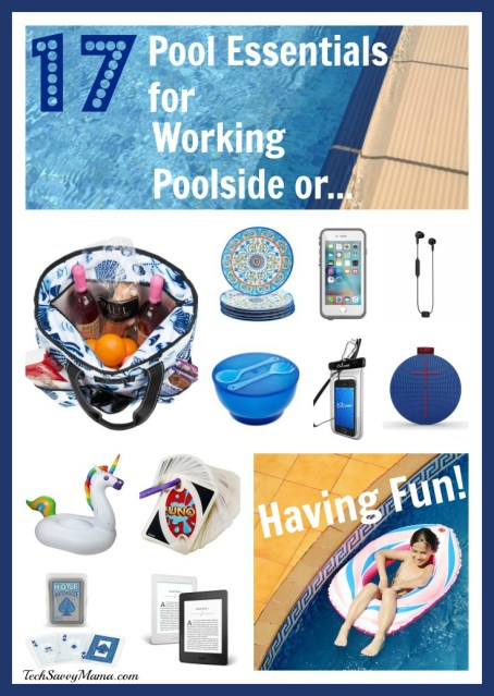 Pool Must Haves for Working Poolside