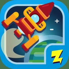 Zap Zap Kindergarten Math App Logo