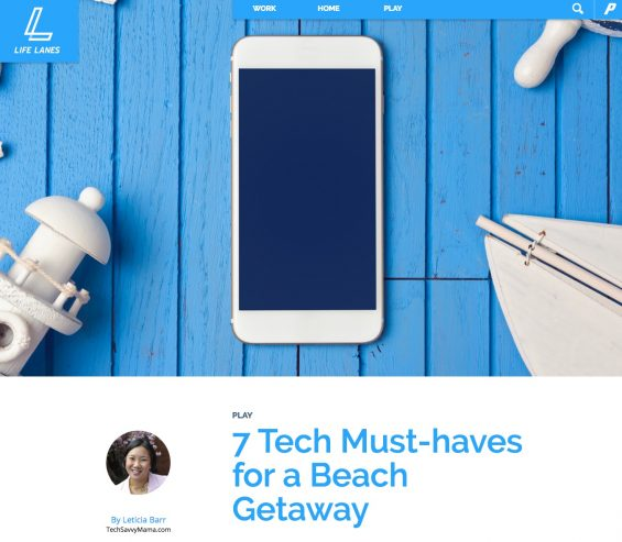 7 Tech Must Haves for a Beach Getaway
