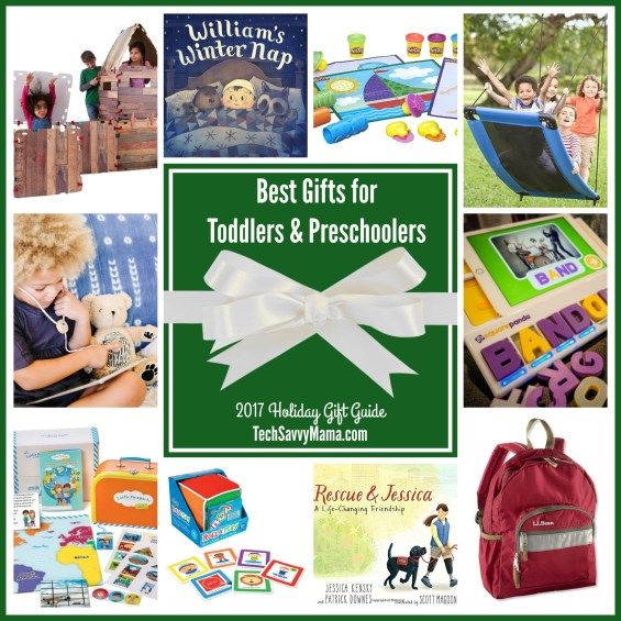 gifts for toddlers and preschoolers