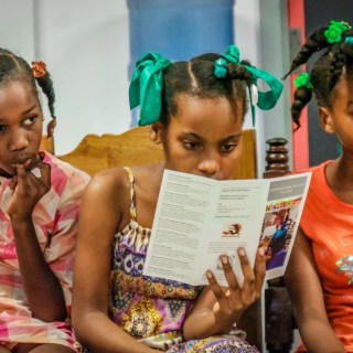 Haiti Projects Pad Project Educates Girls in Rural Haiti About Puberty, Periods & Pads