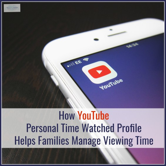 YouTube Time Personal Watched Profile