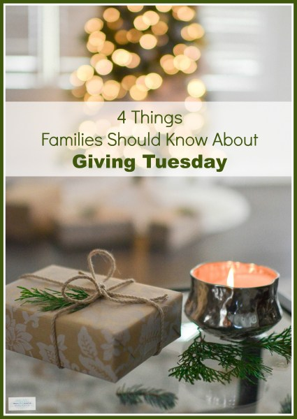 Giving Tuesday for Families: 4 Things Parents Should Know