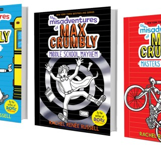Why The Misadventures of Max Crumbly is a Great Book Trilogy for Boys
