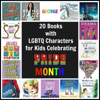 20 Books with LGBTQ Characters for Kids Celebrating PrideMonth
