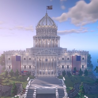 Minecraft Build the Vote