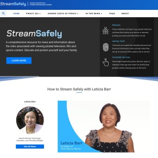 Tips for Safe Streaming for Families from StreamSafely.com