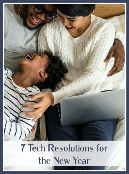 tech resolutions for the new year