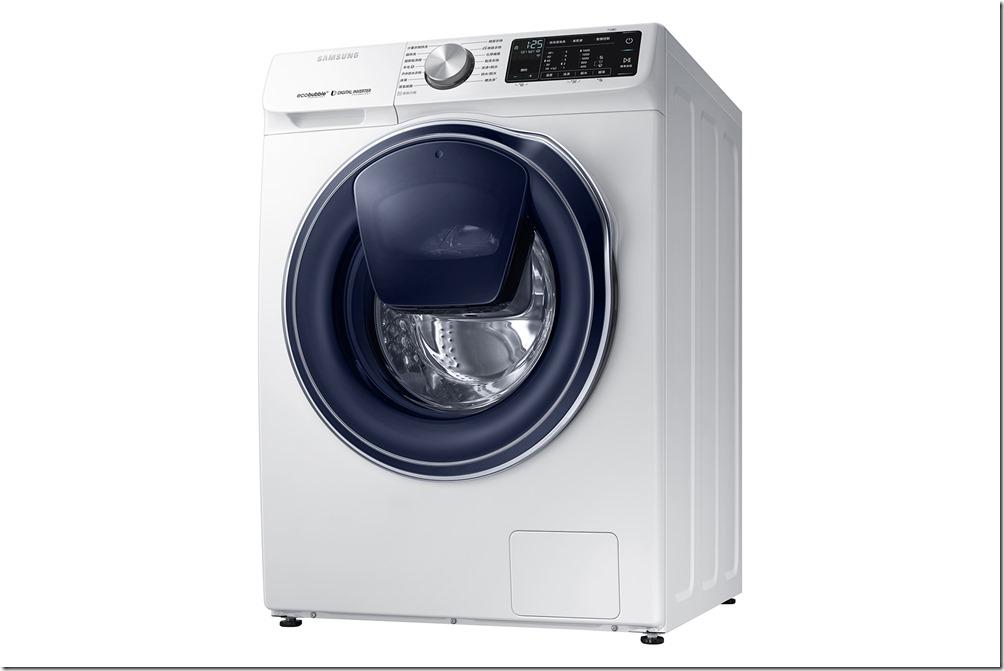 三星AddWash潔徑門系列滾筒洗衣機WW10N亮麗白-2
