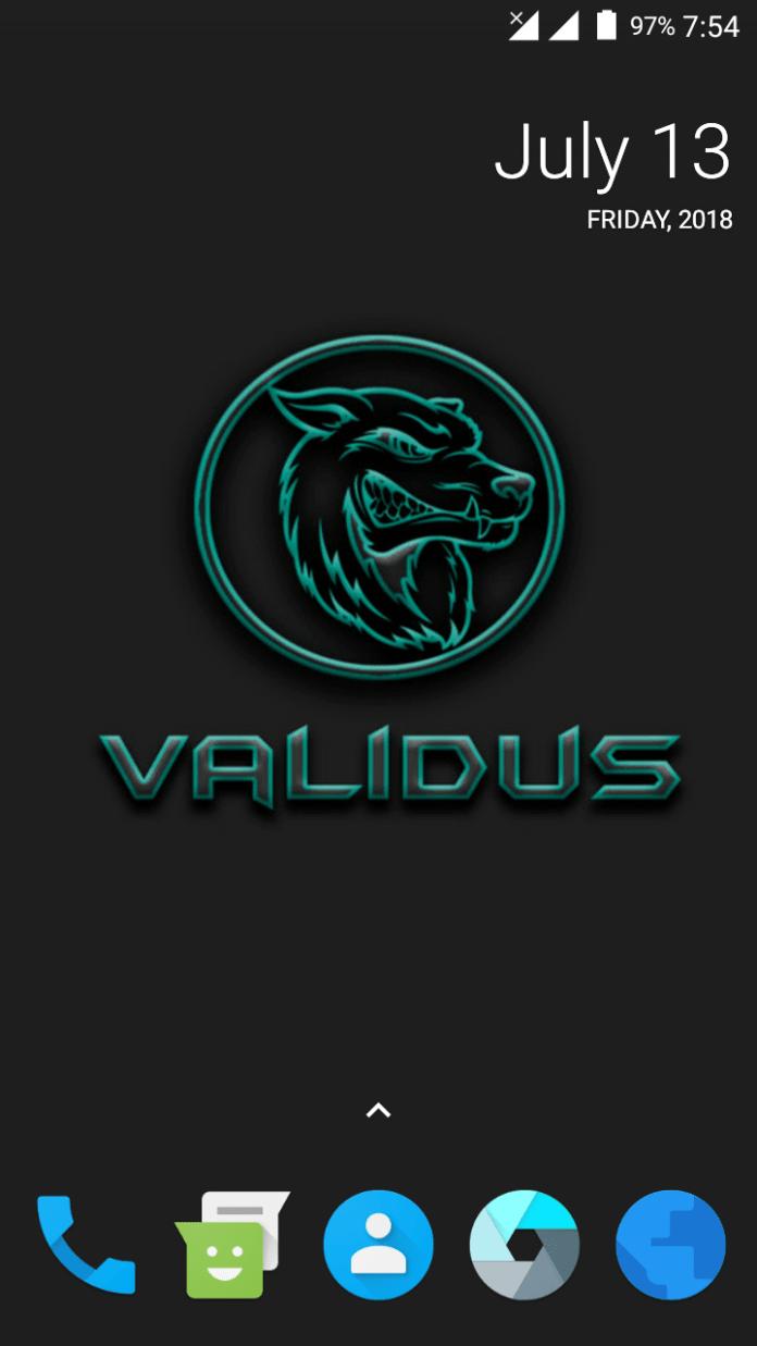 Bugless Validus 15.1 Nougat Custom Rom For Fero Royale X1 Lite