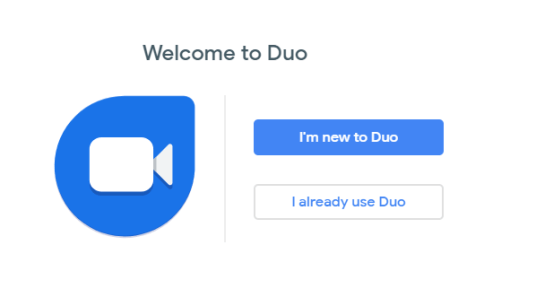 Google Duo Video chat for Web