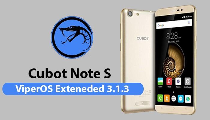 Custom ROM For Cubot Note S