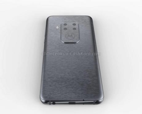 Motorola smartphone quad camera