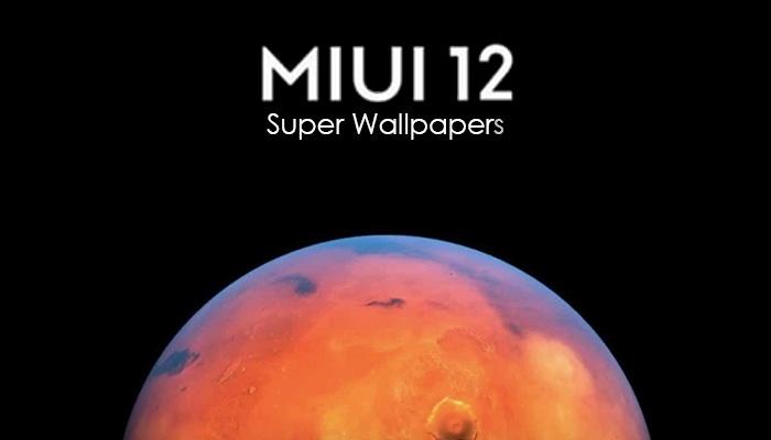 MIUI 12 Super Wallpaper