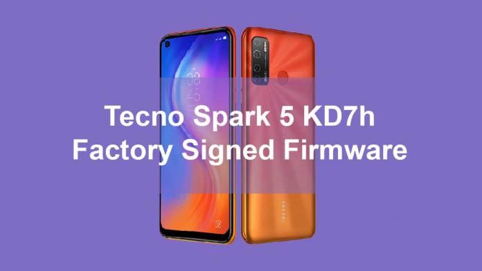 Tecno Spark 5 KD7h firmware