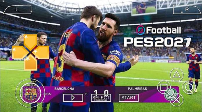 PES 2021 PPSSPP ISO