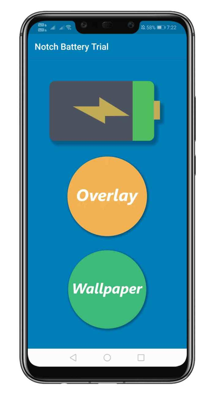 How To Turn Smartphone Notch Into a Battery Indicator