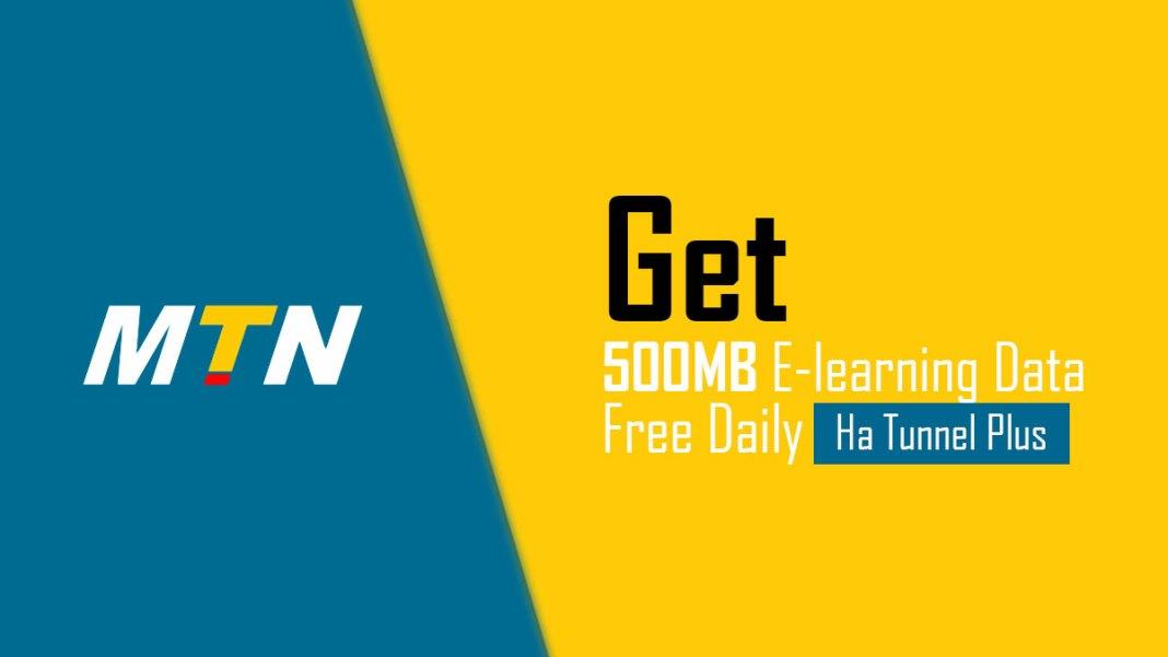 MTN free 500MB Ha tunnel Plus file